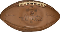 1968 Green Bay Packers Team Signed Football
