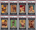 Boxing Cards:General, 1951 Topps Ringside Boxing Complete Set (96). ...