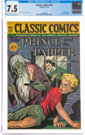 Golden Age (1938-1955):Classics Illustrated, Classic Comics #29 The Prince and the Pauper - First Editi...
