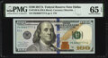 Small Size:Federal Reserve Notes, Fancy Serial Number 88887777 Fr. 2189-K $100 2017A Federal Reserve Note. PMG Gem Uncirculated 65 EPQ.. ...