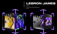 2020 LeBron James NBA Top Shot (Series 1) From The Top - Dunk #3/59