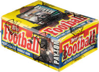 1985 Topps Football Wax Box With 36 Unopened Packs
