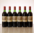 Red Bordeaux, Chateau Lafite Rothschild 1982 . Pauillac . 4bn, 8ts, 1lwasl, 5lcc, 1nl, 2sdc, owc. Bottle (12). ... (Total: 12 Btls. )