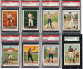 """Boxing Cards:General, 1910 T220 Mecca """"Prize Fighters"""" PSA/SGC Graded Partial Set (39/50)...."""