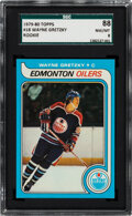 Hockey Cards:Singles (1970-Now), 1979 Topps Wayne Gretzky #18 SGC 88 NM/MT 8....