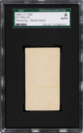 Baseball Cards:Singles (Pre-1930), 1909-11 T206 (Blank Back) Vic Willis (Throwing) SGC Authentic. ...