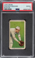 Baseball Cards:Singles (Pre-1930), 1909-11 T206 Drum Peaches Graham (Boston) PSA Good 2....