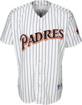 Baseball Collectibles:Uniforms, 1998 Tony Gwynn Hit #2,869 Game Worn & Signed San Diego Padres Jersey with Family Letter. ...