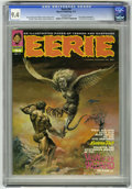 Magazines:Horror, Eerie #34 (Warren, 1971) CGC NM 9.4 Off-white pages. Boris Vallejo cover. Tom Sutton and Mike Royer art. Pat Broderick fan p...