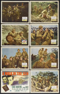"Movie Posters:War, A Walk in the Sun (20th Century Fox, 1946). Lobby Card Set of 8(11"" X 14""). War. Starring Dana Andrews, Richard Conte, John...(Total: 8 Items)"