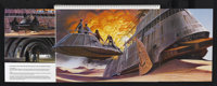 """Revenge of the Jedi (20th Century Fox, 1982). Merchandising Promotions Book (11 Pages, 10.5"""" X 14""""). Used as a..."""