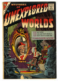 Silver Age (1956-1969):Horror, Mysteries of Unexplored Worlds #4 (Charlton, 1957) Condition:VG....