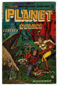 Golden Age (1938-1955):Science Fiction, Planet Comics #73 (Fiction House, 1953) Condition: VG+....