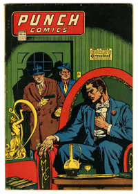 Punch Comics #14 (Chesler, 1945) Condition: FN-