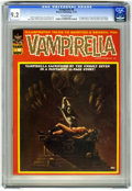 Magazines:Horror, Vampirella #8 (Warren, 1970) CGC NM- 9.2 Off-white pages. First time Vampirella appears as a serious character. First appear...