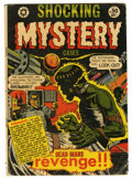 Golden Age (1938-1955):Horror, Shocking Mystery Cases #50 (Star Publications, 1952) Condition:GD....