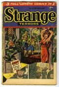 Golden Age (1938-1955):Horror, Strange Terrors #6 (St. John, 1953) Condition: FR....