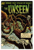 Golden Age (1938-1955):Horror, The Unseen #5 (Standard, 1952) Condition: FN-....