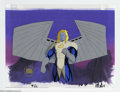 """Original Comic Art:Miscellaneous, X-Men """"The Lotus and the Steel"""" Animation Cel and BackgroundOriginal Art (Marvel, circa 1990s). This cel and """"lasergraphic""""..."""