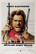 "Movie Posters:Western, Outlaw Josey Wales, The (Warner Brothers, 1976). One Sheet (27"" X41""). Great poster from classic Eastwood. The one sheet is..."
