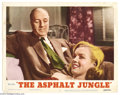 "Movie Posters:Crime, Asphalt Jungle (MGM, R1954). Lobby Card (11"" X 14""). John Hustondirected Marilyn Monroe, James Whitmore and an incredible S..."