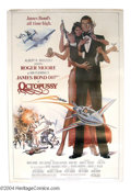 "Movie Posters:Action, Octopussy (MGM - UA, 1982). (40"" X 60""). Roger Moore is back as James Bond in this spy thriller about a dead ""00"" agent, a F..."