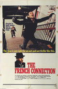 "Movie Posters:Film Noir, French Connection, The (20th Century Fox, 1971). One Sheet (27"" X 41"") Gene Hackman as detective Popeye Doyle in this Willia..."