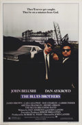 "Movie Posters:Comedy, Blues Brothers, The (Universal, 1980). One Sheet (27"" X 41""). DanAykroyd stars with the late great John Belushi in this Joh..."
