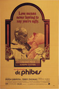 "Movie Posters:Horror, Abominable Dr. Phibes (AIP, 1971). One Sheet (27"" X 41""). This was Vincent Price's 100th film. Price plays a mad doctor who ..."