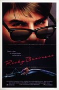 "Movie Posters:Comedy, Risky Business (Warner Brothers, 1983). One Sheet (27"" X 41""). TomCruise starred as a teen out to make a few bucks while th..."