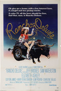 "Movie Posters:Comedy, Rancho Deluxe (United Artists, 1975). One Sheet (27"" X 41"") &Lobby Card Set (8) (11"" X 14""). Jeff Bridges and Sam Waterston...(Total: 9 pieces Item)"