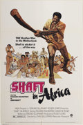 "Movie Posters:Blaxploitation, Shaft in Africa (MGM, 1973). One Sheet (27"" X 41"") & LobbyCards (4) (11"" X 14""). Richard Roundtree continues in thisfollow... (Total: 5 pieces Item)"