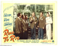 "Movie Posters:Comedy, Road to Rio (Paramount, 1948). Lobby Card (11"" X 14""). Bob Hope andBing Crosby star in another road picture with Dorothy La..."