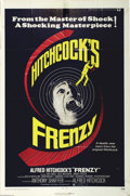 "Movie Posters:Hitchcock, Frenzy (Universal, 1972). One Sheet (27"" X 41""). Alfred Hitchcock'smurder mystery about the wrong man arrested for a series..."