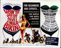 "Movie Posters:Comedy, How to Stuff a Wild Bikini (AIP, 1965). Half Sheet (22"" X 28""). Thelast beach party movie to feature Frankie Avalon ( who i..."