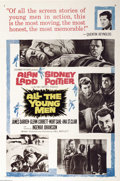 """Movie Posters:Drama, All the Young Men (Columbia, 1960). One Sheet (27"""" X 41""""). An interesting and varied cast including Alan Ladd, Sidney Poitie..."""