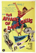 "Movie Posters:Comedy, Affairs of Dobie Gillis, The (MGM, 1953). One Sheet (27"" X 41"").Forerunner to the remembered TV show. Bobby Van stars in th..."