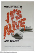 """Movie Posters:Horror, It's Alive (Warner Brothers, 1974). (40"""" X 60""""). Tale of a scary baby who kills when he's frightened and he's frightened alo..."""