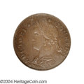 Colonials: , 1788 COPPER Connecticut Copper, Draped Bust Left MS62 Brown ...