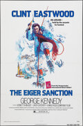 """Movie Posters:Action, The Eiger Sanction (Universal, 1975). Folded, Very Fine. One Sheet (27"""" X 41"""") John Alvin Artwork. Action.. ..."""