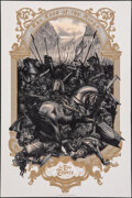 Movie Posters:Fantasy, The Lord of the Rings: The Two Towers by Jonathan Burton (2017). Rolled, Very Fine/Near Mint. Hand Numbered Screen Print Pos...