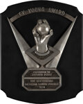 Baseball Collectibles:Others, 1978 National League Cy Young Award Presented to Gaylord Perry with Perry Provenance....