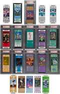 Football Collectibles:Tickets, 1981-2015 Super Bowl Full Tickets (Graded & Ungraded) Lot of 20....