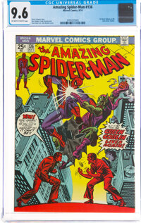 The Amazing Spider-Man #136 (Marvel, 1974) CGC NM+ 9.6 Off-white to white pages