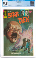 Bronze Age (1970-1979):Science Fiction, Star Trek #42 (Gold Key, 1977) CGC NM/MT 9.8 White pages.