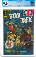 Bronze Age (1970-1979):Science Fiction, Star Trek #18 (Gold Key, 1973) CGC NM+ 9.6 White pages.