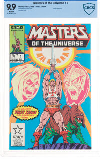 Masters of the Universe #1 (Marvel, 1986) CBCS MT 9.9 White pages