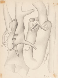 Fernand Léger (1881-1955) Untitled, 1931 Pencil on paper 11-3/4 x 8-3/4 inches (29.8 x 22.2 cm) (sheet) Initialed...