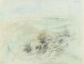Works on Paper, George Grosz (1893-1959). Cape Cod, circa 1943. Watercolor, charcoal, and pencil on paper. 15-3/4 x 20-1/4 inches (40 x ...