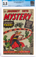 Silver Age (1956-1969):Superhero, Journey Into Mystery #83 (Marvel, 1962) CGC VG- 3.5 Off-white pages....